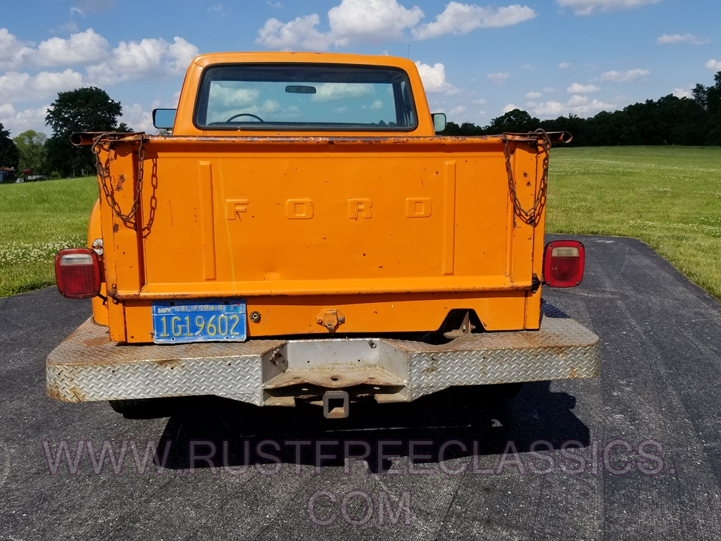 1977 F250 Longbed Stepside Orange